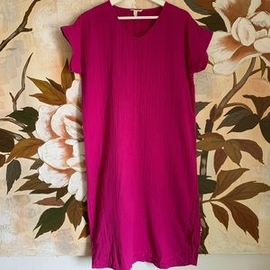 Eileen Fisher Organic Gauze Dress